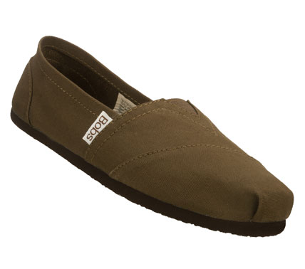 SKECHERS Womens Bobs Earth Day Casual Flats - Brown - 5.5