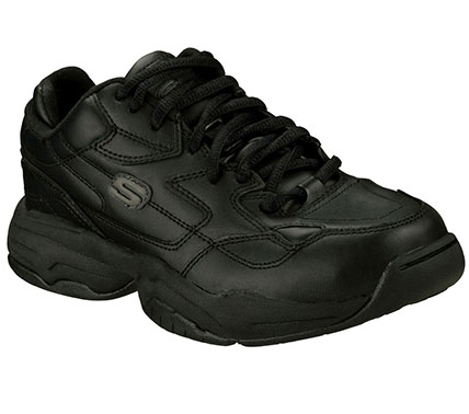 SKETCHERS Womens Work Felix Marathon Nurse And Medical Shoes - Black - 6.5