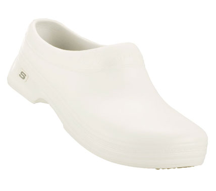SKECHERS Womens Work Oswald Clara Nurse And Medical Shoes - White - 10